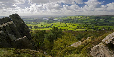 Peak District Photograph - Tittesworth From The Roaches by Chris Dale