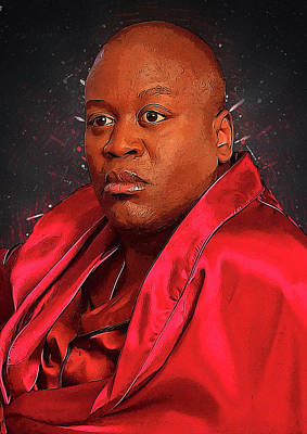 Communion Digital Art - Titus Andromedon by Semih Yurdabak