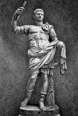 Photograph - Titus Flavius Domitian by David Cote