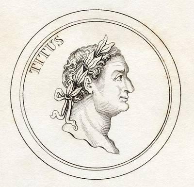 Titus Flavius Sabinus Vespasianus Aka Art Print by Vintage Design Pics