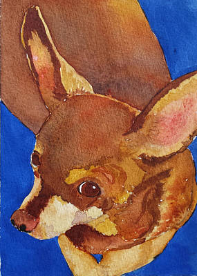 Painting - Tivo by Judy Mercer