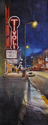 Loop Painting - Tivoli Theatre by Spencer Meagher