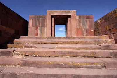 Photograph - Tiwanaku  by Aidan Moran