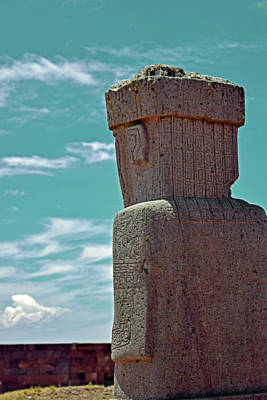 Photograph - Tiwanaku No. 100-1 by Sandy Taylor