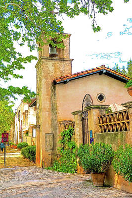 Tlaquepaque Arts And Crafts Village 12 Art Print by Kenneth Roberts
