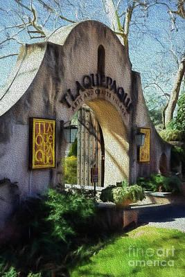 Photograph - Tlaquepaque Entrance by Jon Burch Photography