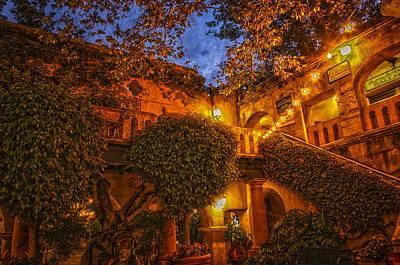 Tlaquepaque Evening Art Print by Laura Pratt
