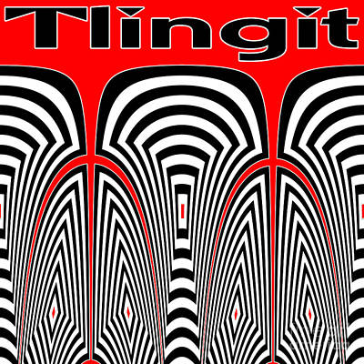 Tlingit Tribute Art Print by Methune Hively