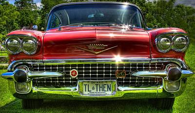 Cadilac Photograph - Tlthen by David  Hubbs