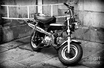 Photograph - Tlv 50cc Motorbike by John Rizzuto
