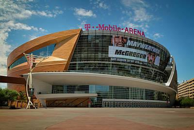 Photograph - Tmobile Arena by Ricky Barnard