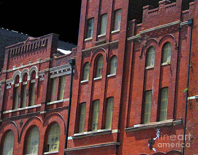 Photograph - Tn Brewery Facade by Lizi Beard-Ward