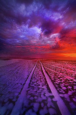 Snow Drifts Photograph - To All Ends Of The World by Phil Koch