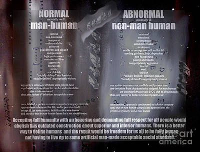 Normal Mixed Media - To Be Fully Human by Karen Henninger