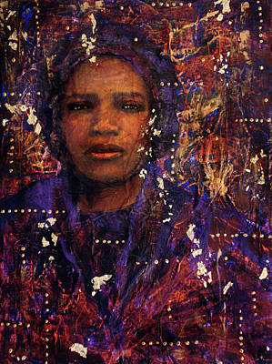 Mixed Media - To Be Sold A Likely Negro Wench by Cora Marshall