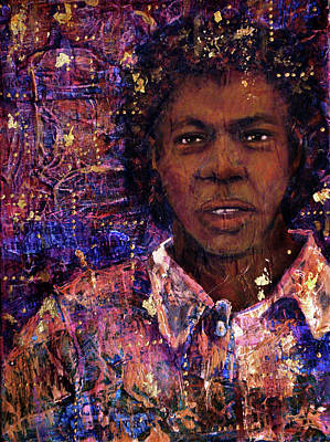 Mixed Media - To Be Sold Man 20 Years Old - 1781 by Cora Marshall