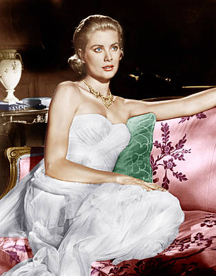 To Catch A Thief, Grace Kelly, 1955 Print by Everett