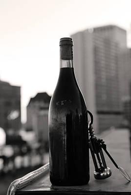 Wine Legs Photograph - To Celebrate  by Jerry Cordeiro