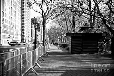 Photograph - To Central Park West by John Rizzuto