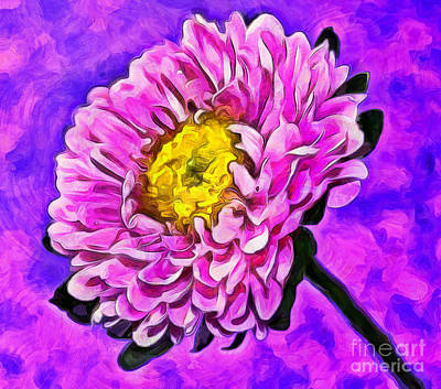 Floral Abstract Photograph - To Cheer You Up by Krissy Katsimbras