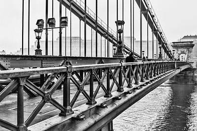Photograph - A Bridge On River Danube. by Usha Peddamatham
