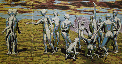 To Dance Art Print by Leo Mazzeo