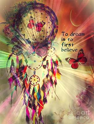 Digital Art - To Dream by Maria Urso