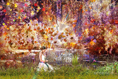 Holy Digital Art - To Every Thing There Is A Season by Dolores Develde