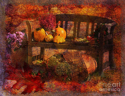 Digital Art - To Everything There Is A Season 2015 by Kathryn Strick