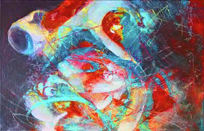 Painting - To Fall Apart by Mira Satryan