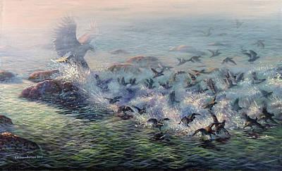 Painting - To Find Salvation by Valentin Katrandzhiev