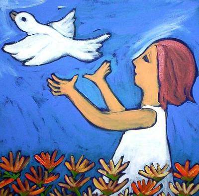 Painting - To Fly Free by Winsome Gunning