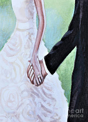 Painting - To Have And To Hold by Elizabeth Robinette Tyndall