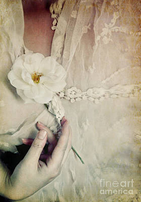 To Hold A Rose So Sweet Art Print