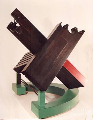 Sculpture - To Ireland by Robert F Battles