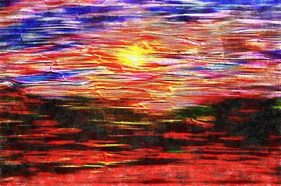 Digital Art - To Live Within A Sunset by Dorothy Berry-Lound