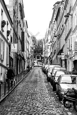 Photograph - To Moulin De La Galette Paris by John Rizzuto