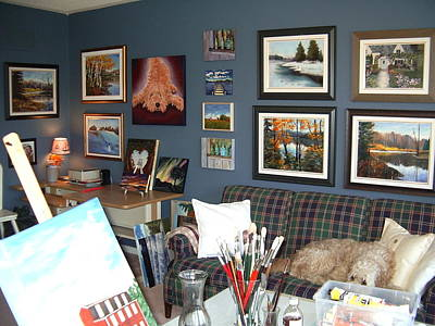 Art Print featuring the painting To Our Arts Content by Diane Daigle