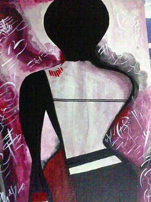 To Pain And Pleasure Art Print by Samarpita Dasgupta