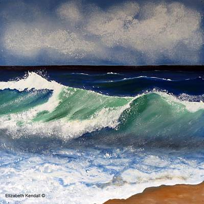 Painting - To Paint The Sea by Elizabeth Kendall