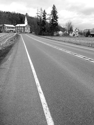 Photograph - To Pennsylvania Route 305 by Polly Castor