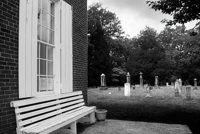 Photograph - To Rest And At Rest In Black And White by Greg Mimbs