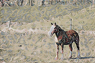 Photograph - To Ride A Paisley Horse by Susan Maxwell Schmidt