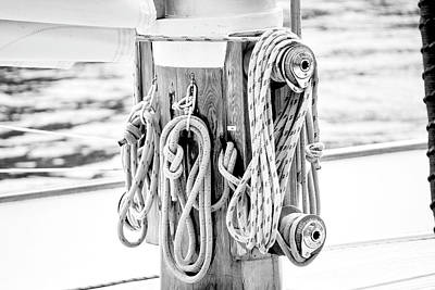 Photograph - To Sail Or Knot by Greg Fortier