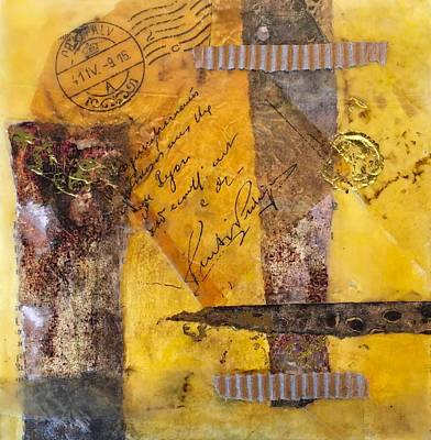 Mixed Media - To Sir With Love by Sandra Lee Scott