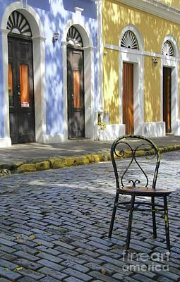 Photograph - To Sit In Old San Juan by Suzanne Oesterling
