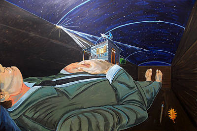 To Take The Sky And Mystery Original by Lazaro Hurtado