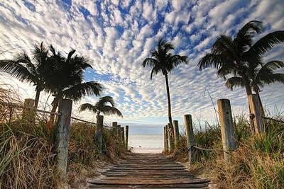 Photograph - To The Beach by Scott Bert