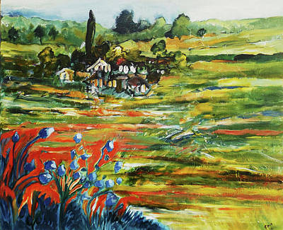 Painting - To The Country Born by Gloria Dietz-Kiebron