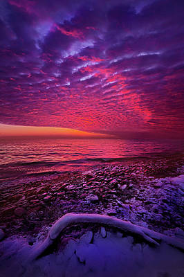 Photograph - To The End by Phil Koch